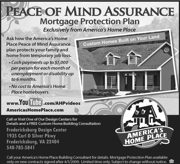 America's Homeplace Newspaper Ads